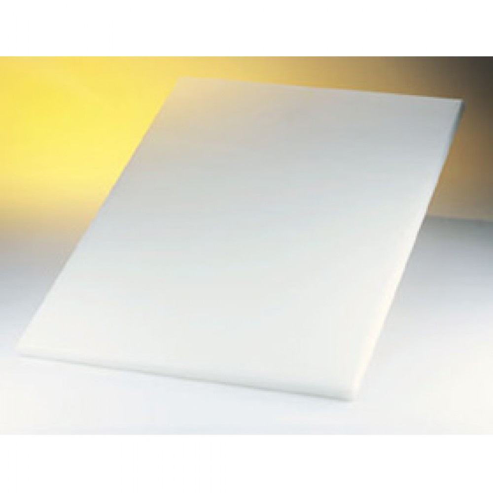 Genware White High Density Chopping Board 600x450x18mm