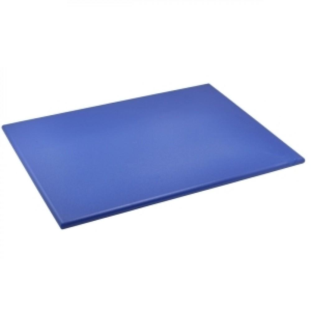 Genware Blue High Density Chopping Board 600x450x18mm