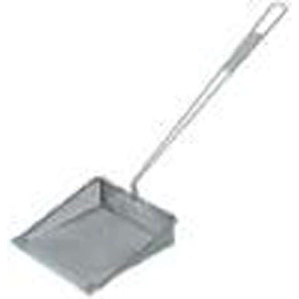 Berties Square Skimmer Shovel 200x200mm Fine Mesh