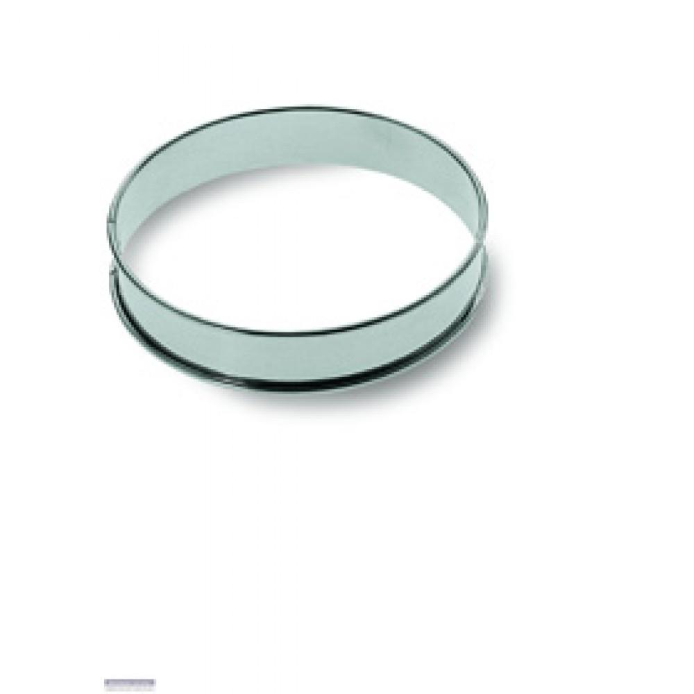 Berties Aluminium Flan Ring - plain 25cm