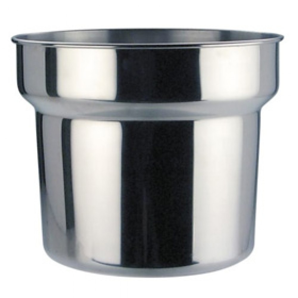 Genware Bain Marie Pot 4.2 Litre, 21cm diameter