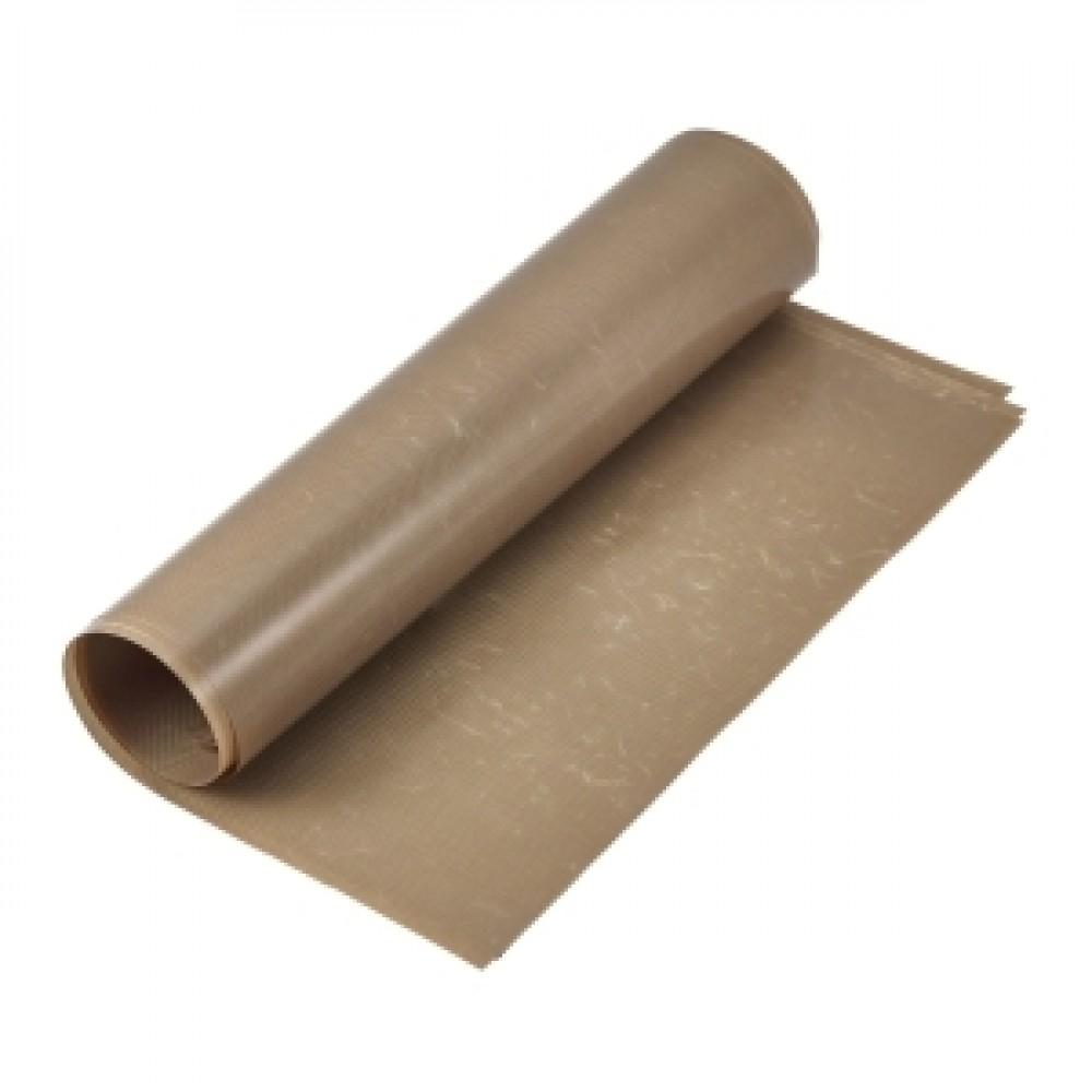 Genware Non-Stick Reusable Baking Liner Brown 58.5x38.5cm