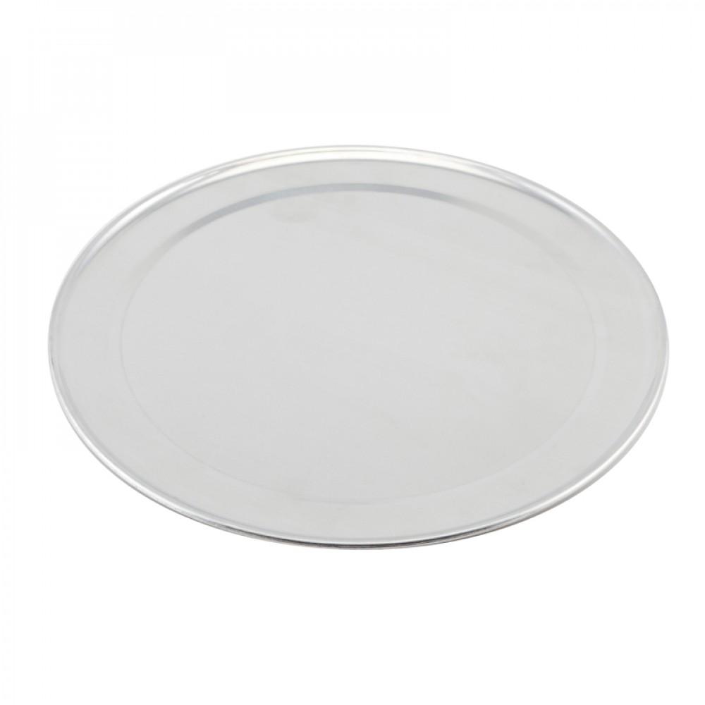 """Genware Aluminium Flat Wide Rim Pizza Pan 14"""""""