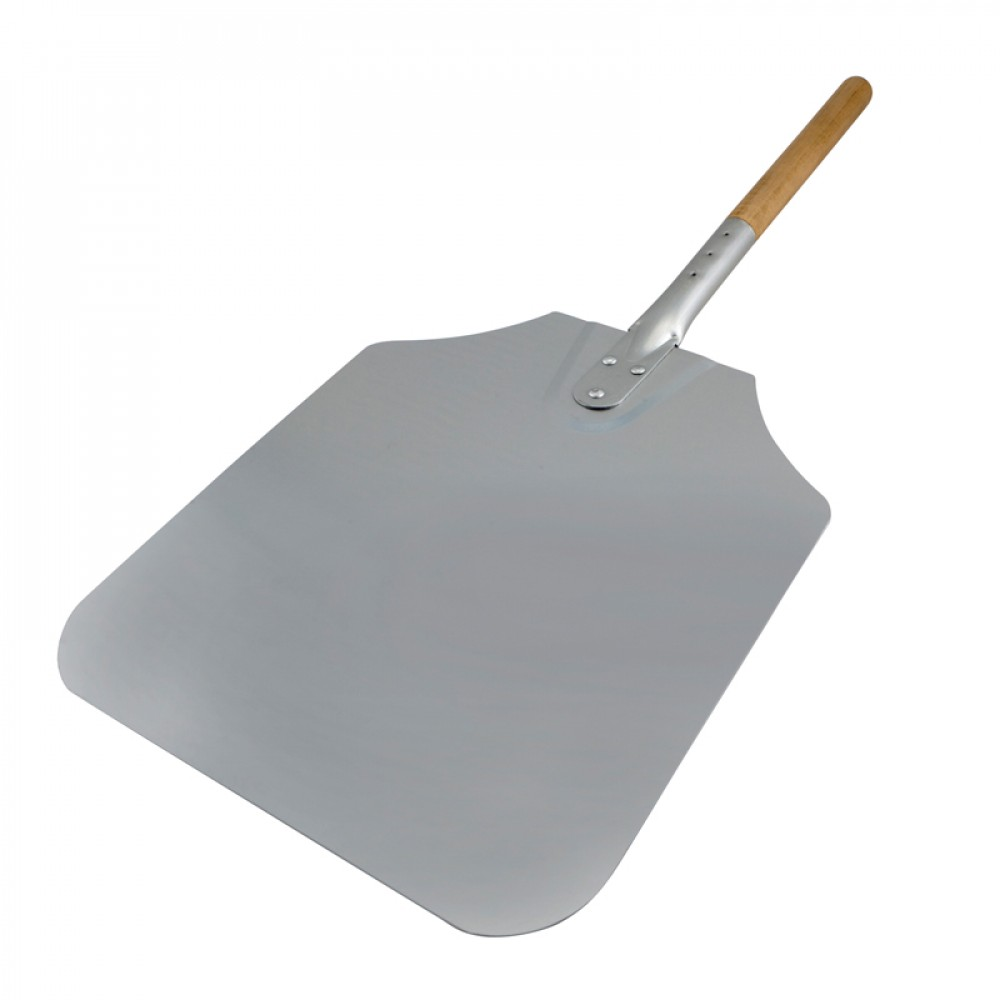 "Genware Pizza Peel Wood Handle 36"" Blade 12x14"""