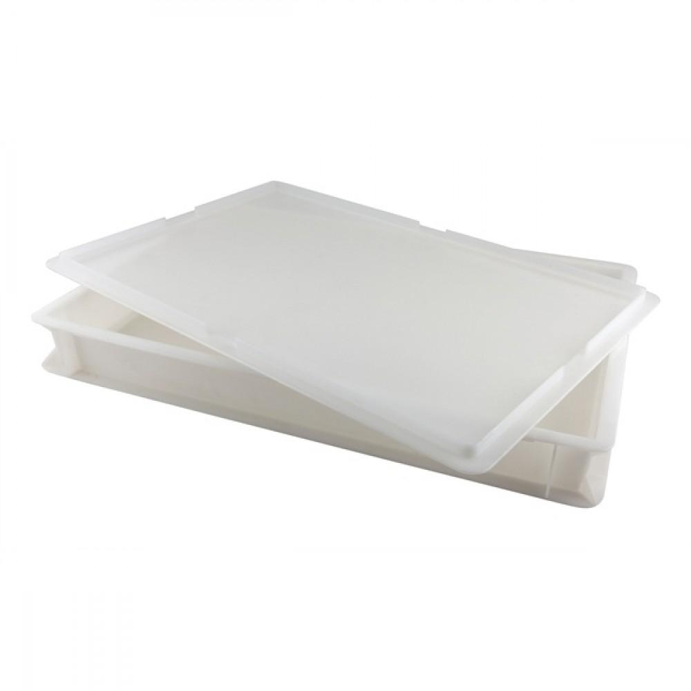 Genware Dough Box White 14L 60x40x7.5cm