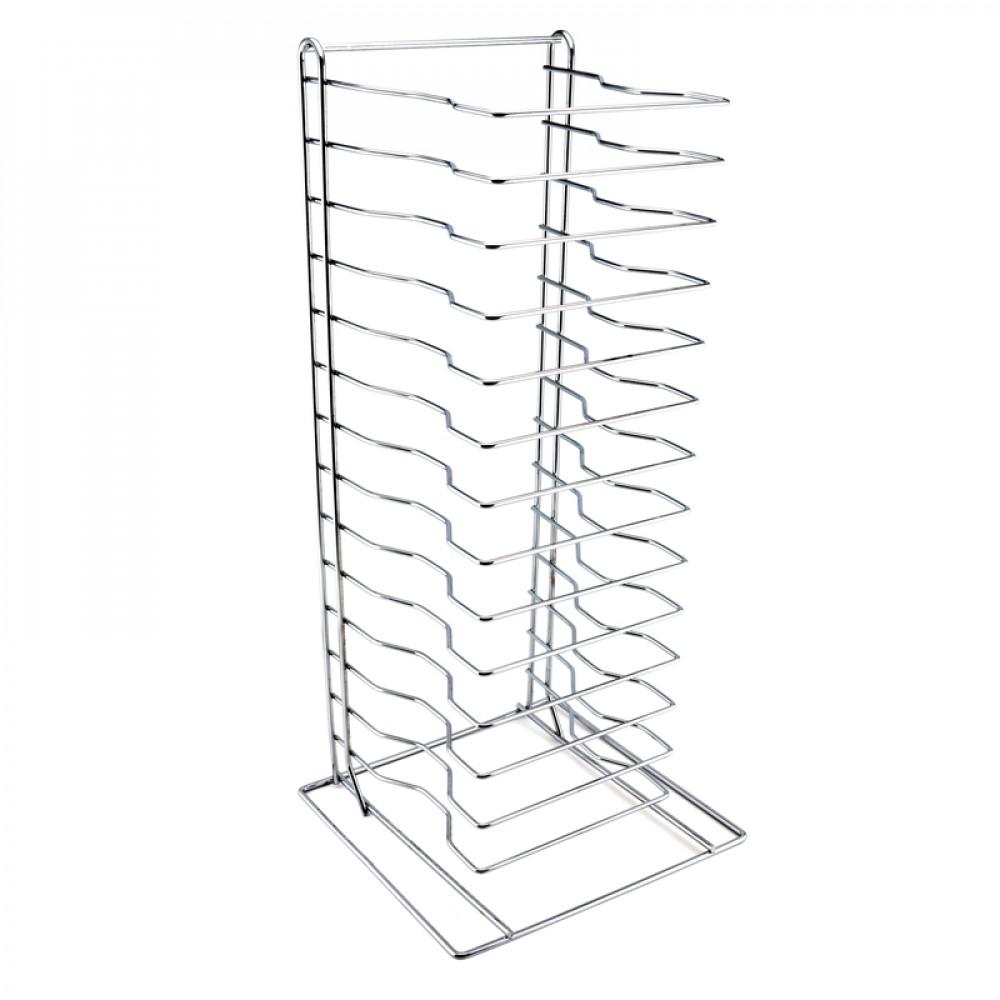 Genware Pizza Pan Rack - Stand 15 Shelf