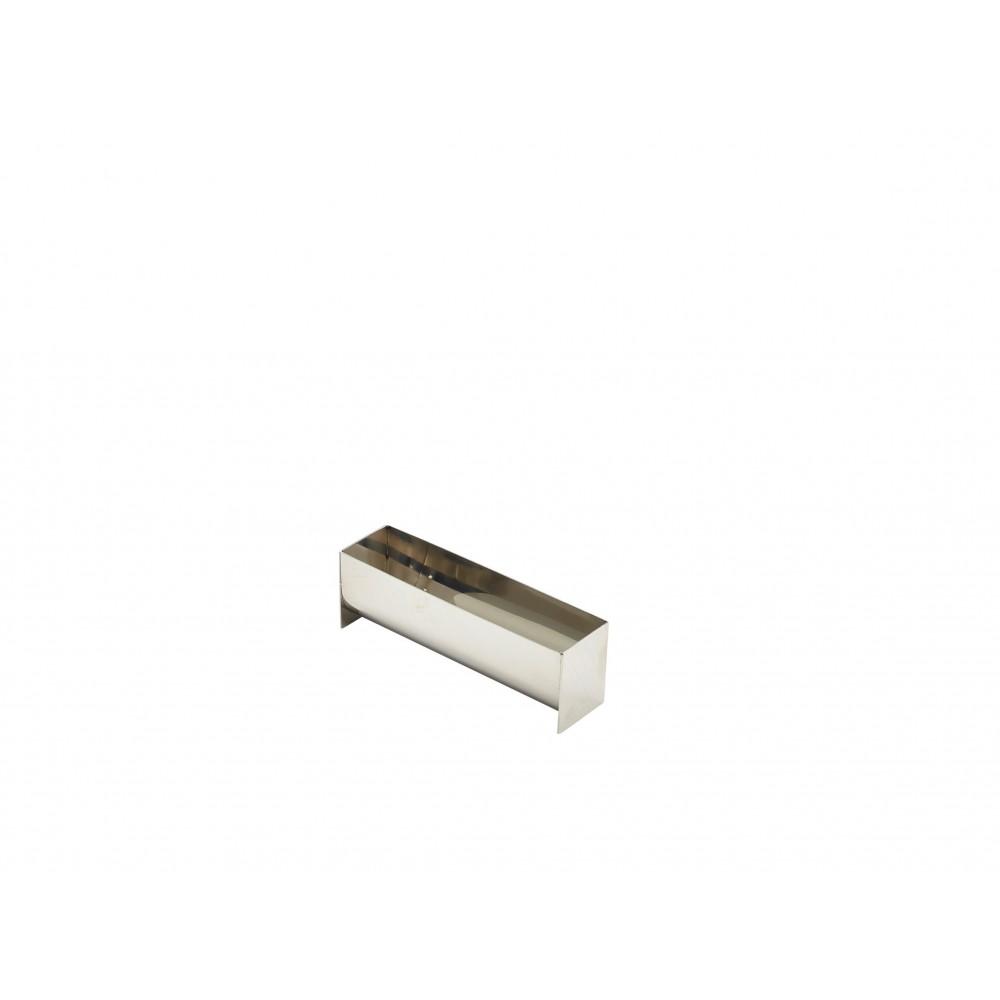 Berties Stainless Steel Terrine Mould U Shape 135x35x45mm