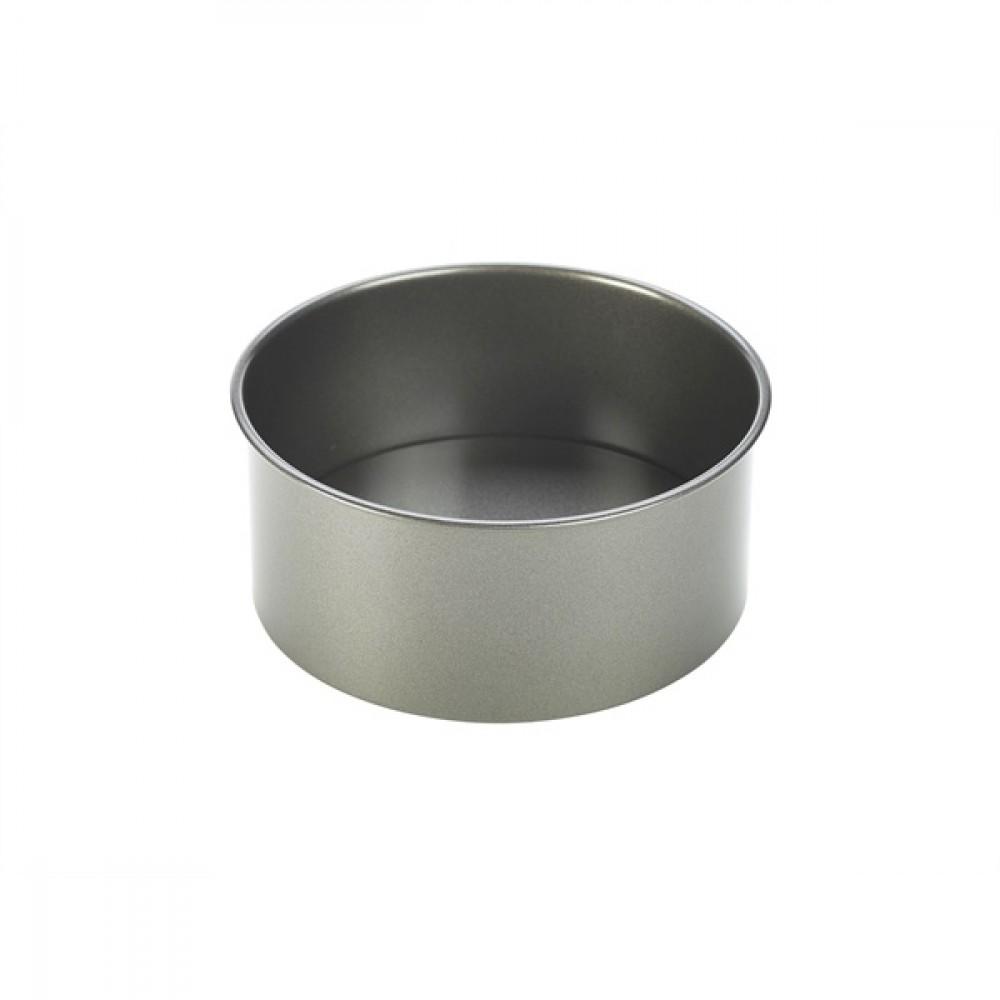 Genware Carbon Steel Non-Stick Round Deep Cake Pan 20x8cm