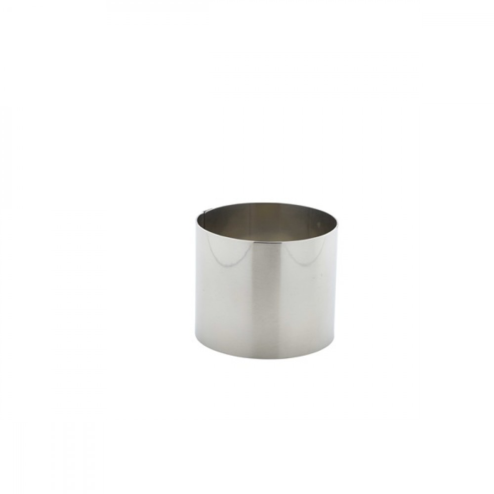 Berties Stainless Steel Mousse Ring 7x6cm