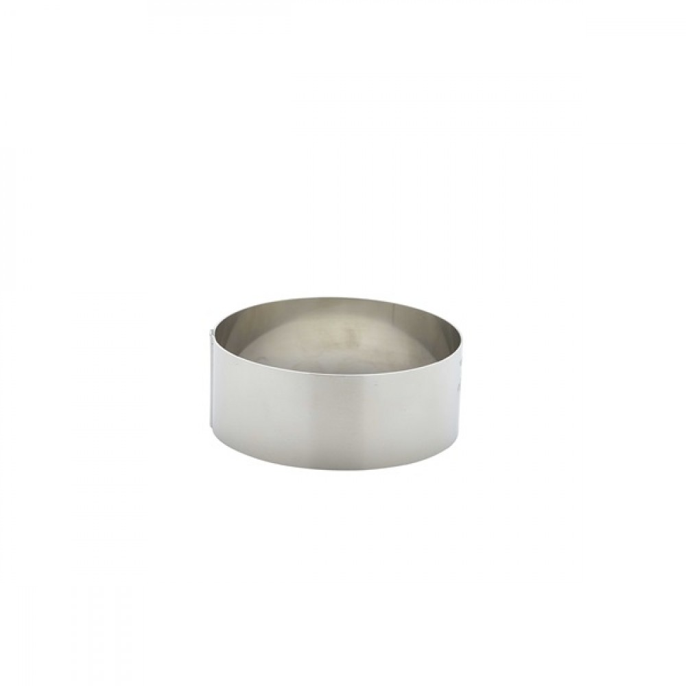 Berties Stainless Steel Mousse Ring 9x3.5cm