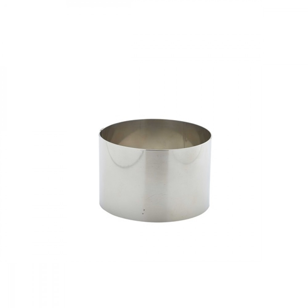 Berties Stainless Steel Mousse Ring 9x6cm