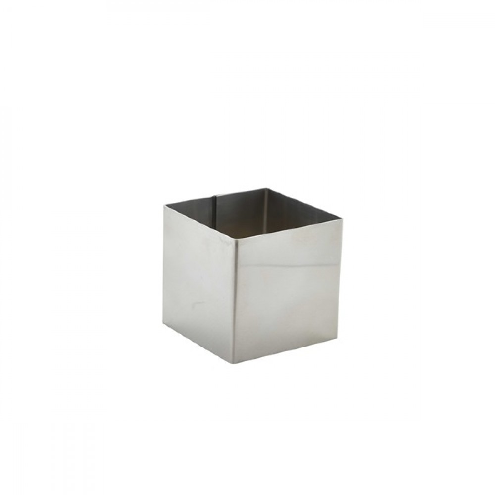 Berties Stainless Steel Square Mousse Ring 6x6x6cm