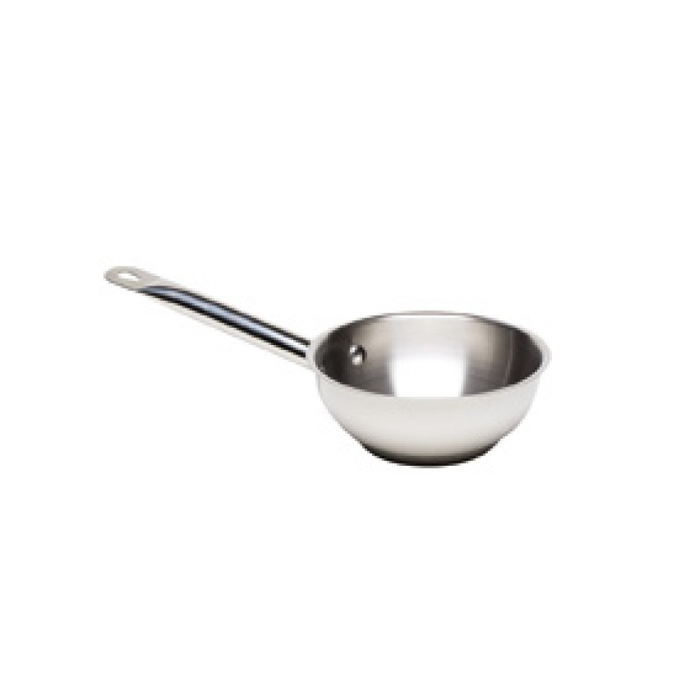 Genware Stainless Steel Sauteuse Pan 24cm 2.8 Litre