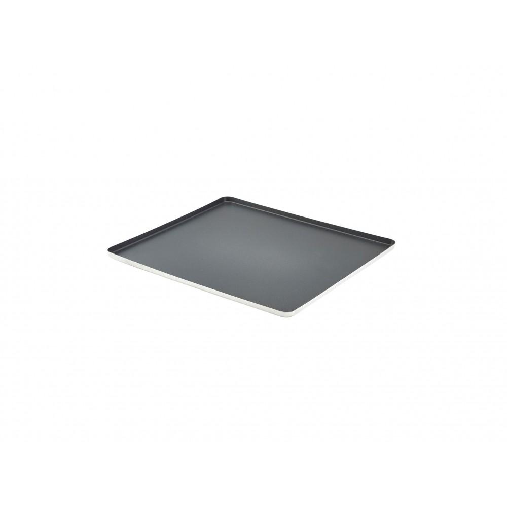 Genware Non-Stick Aluminium Baking Tray GN 2/3