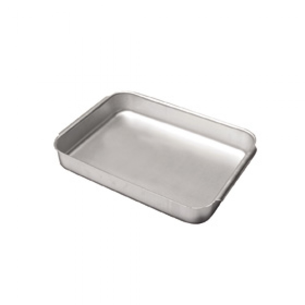 Genware Aluminium Baking Dish with handle 21.5x31.5x5cm