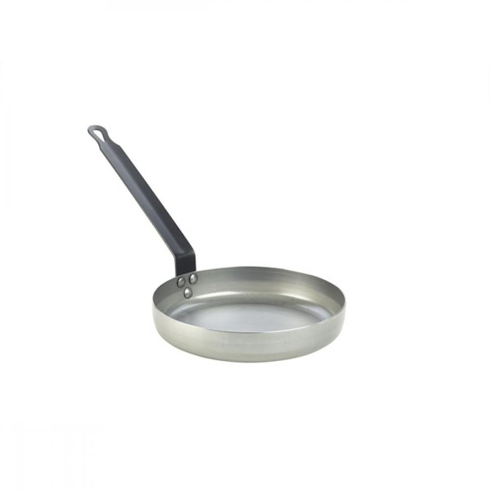 "Genware Black Iron Omelette Pan 20cm-8"""