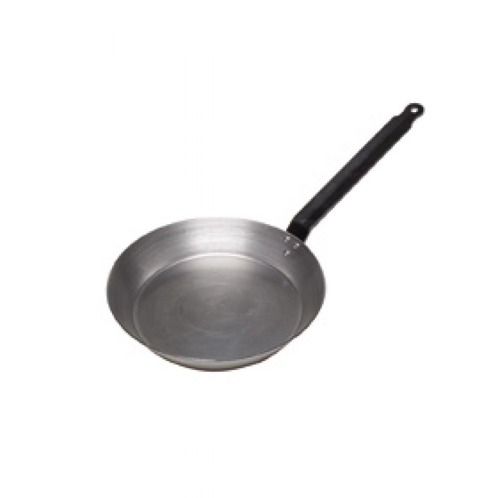 Genware Black Iron Frypan 25cm
