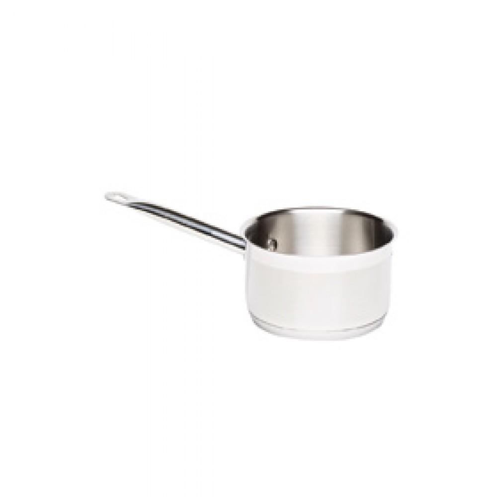 Genware Stainless Steel Saucepan 18cm 2.7 Litre