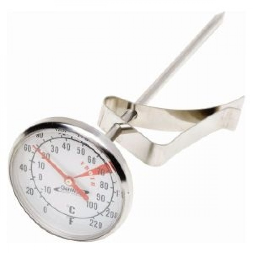 Genware Frothing Thermometer +10 to +200 deg C