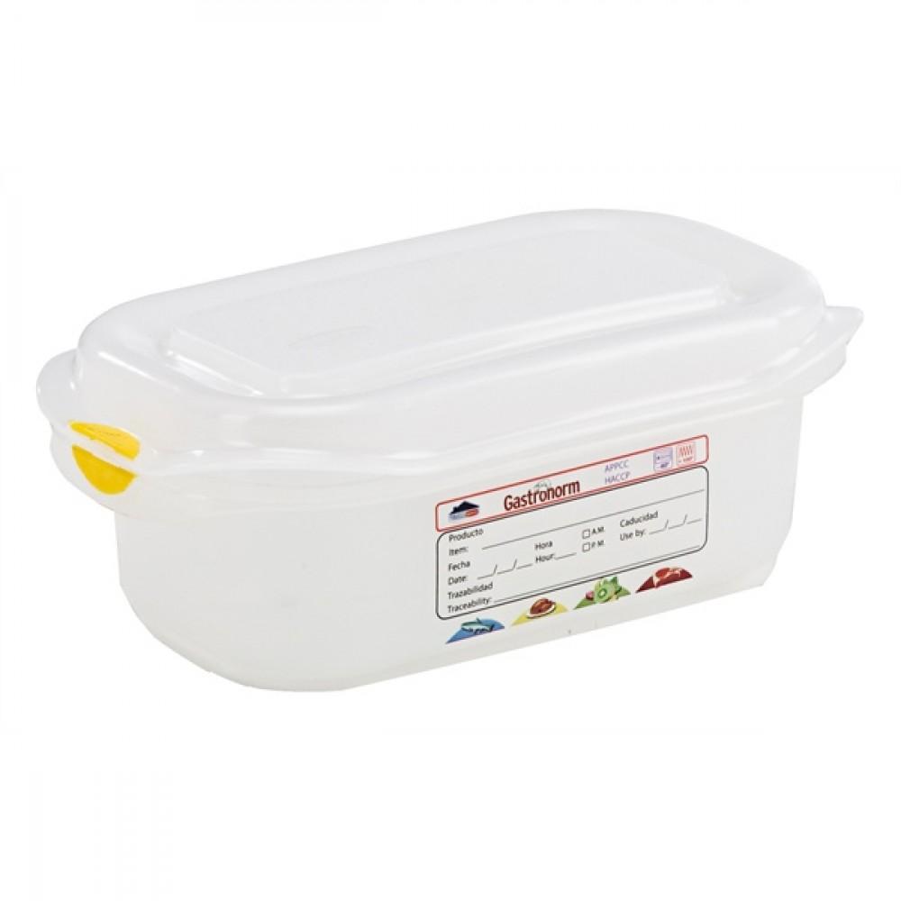 Berties Gastronorm Storage Box 1/9 65mm Deep 0.6L
