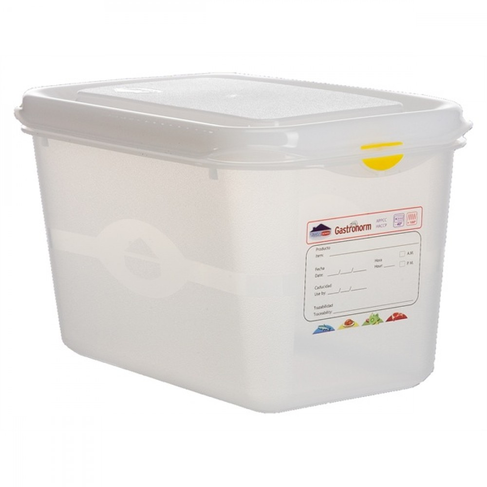 Berties Gastronorm Storage Box 1/4 150mm Deep 4.3L