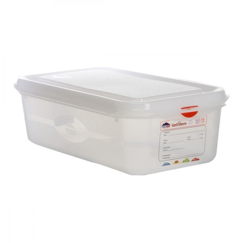 Berties Gastronorm Storage Box 1/3 100mm Deep 4L