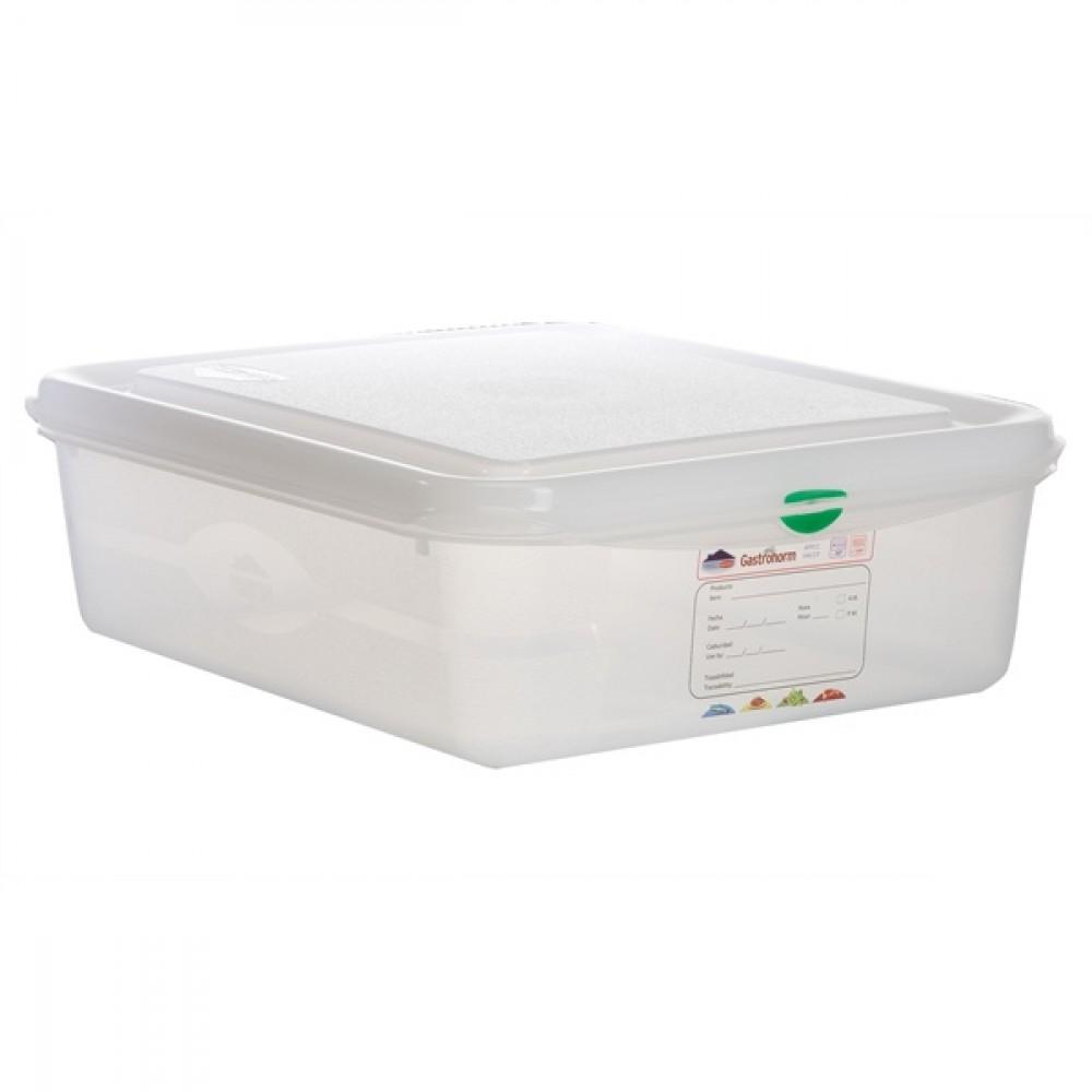 Berties Gastronorm Storage Box 1/2 100mm Deep 6.5L