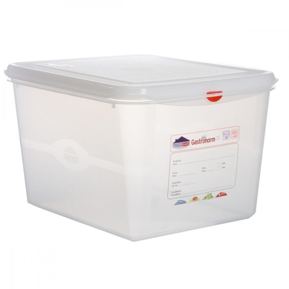 Berties Gastronorm Storage Box 1/2 200mm Deep 12.5L