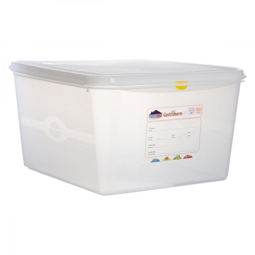 Berties Gastronorm Storage Box 2/3 200mm Deep 19L