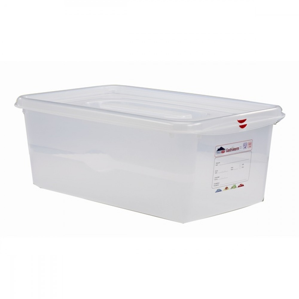 Berties Gastronorm Storage Box 1/1 200mm Deep 28L