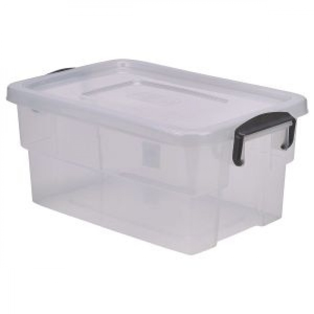 Berties Storage Box 13L With Clip Handles