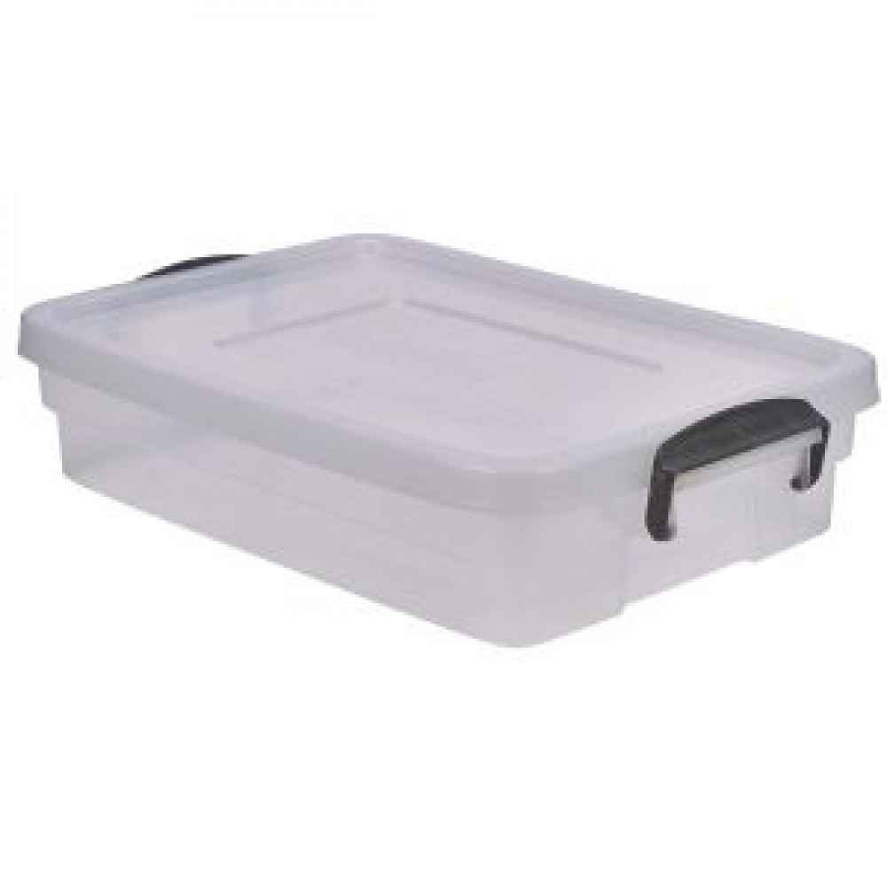 Berties Storage Box 20L With Clip Handles