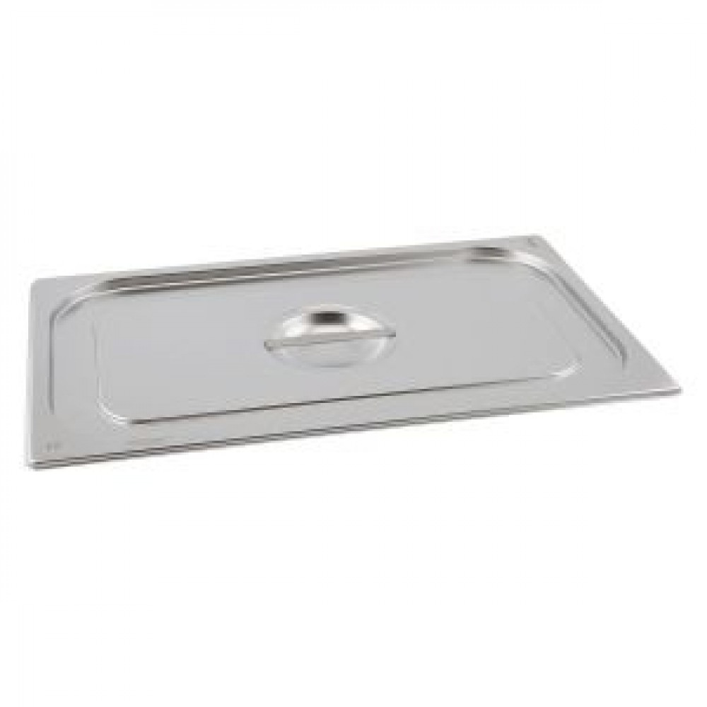 Genware Stainless Steel Gastronorm Lid 1-6