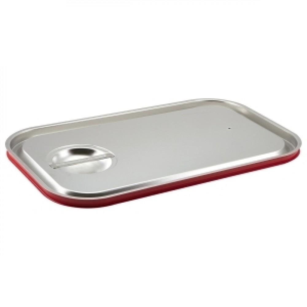 Genware Stainless Steel Gastronorm Sealing Pan Lid 1/1