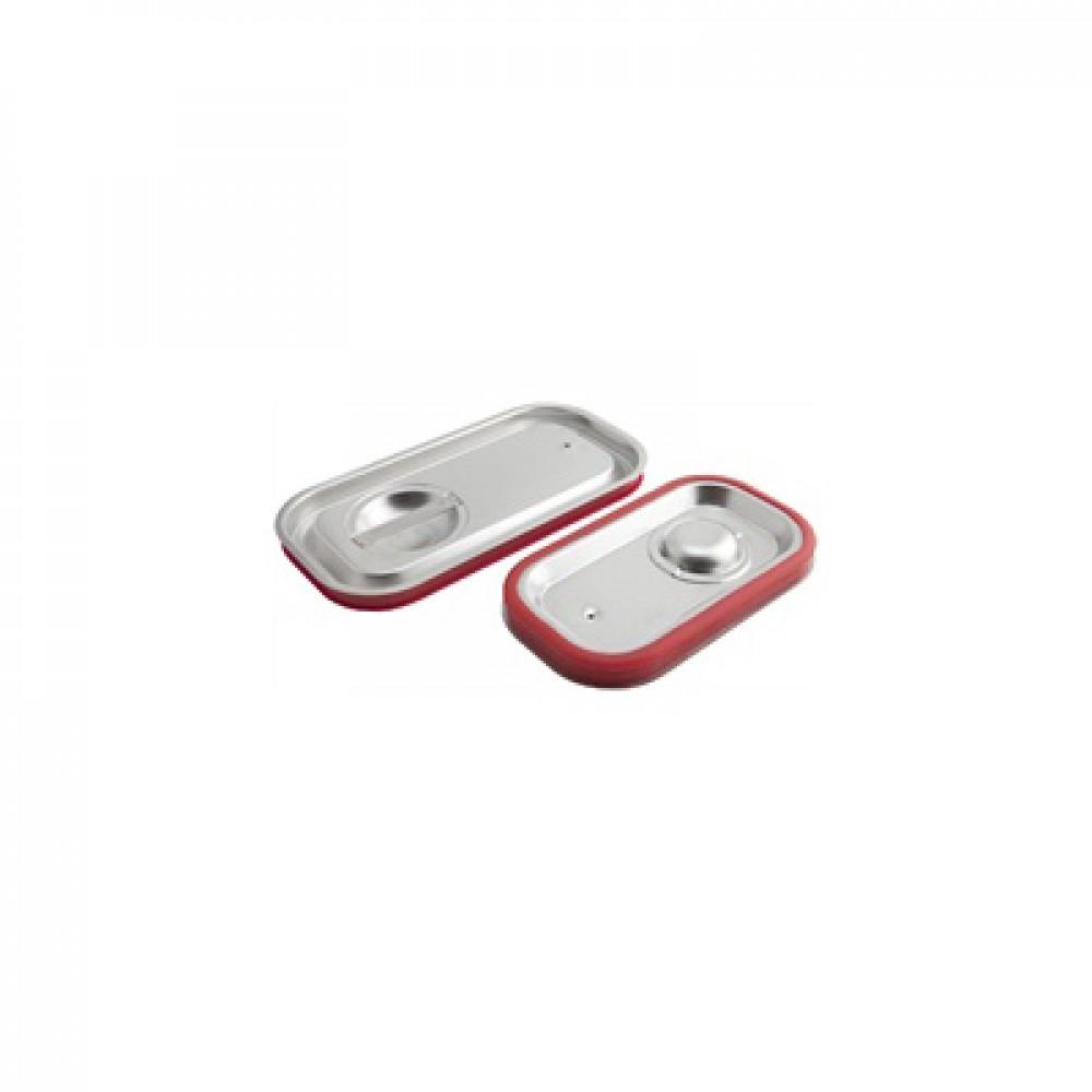 Genware Stainless Steel Gastronorm Sealing Pan Lid 1/2