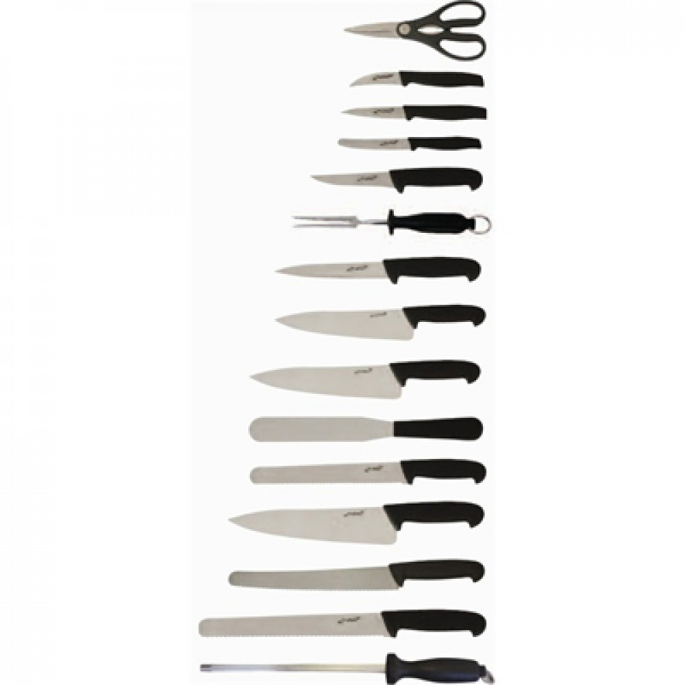 Genware Professional Knife Set 15 Piece and Case