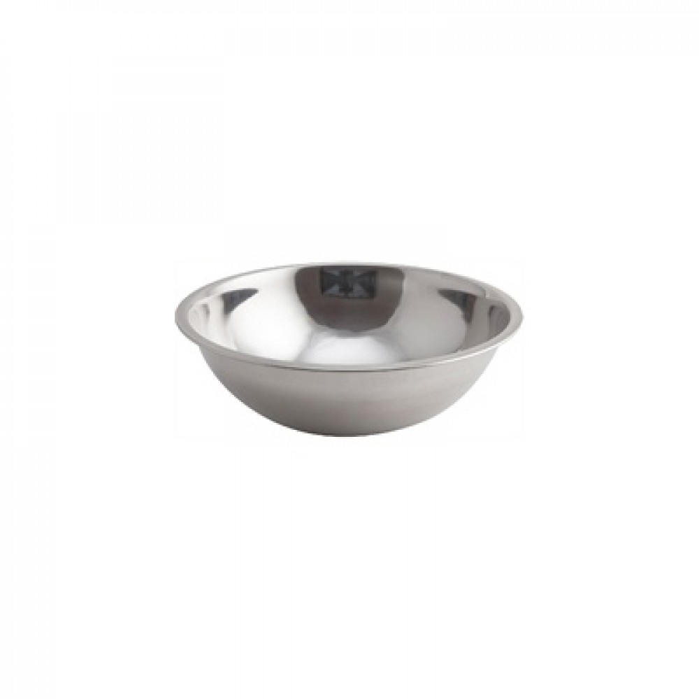 Genware Stainless Steel Mixing Bowl 3 Litre