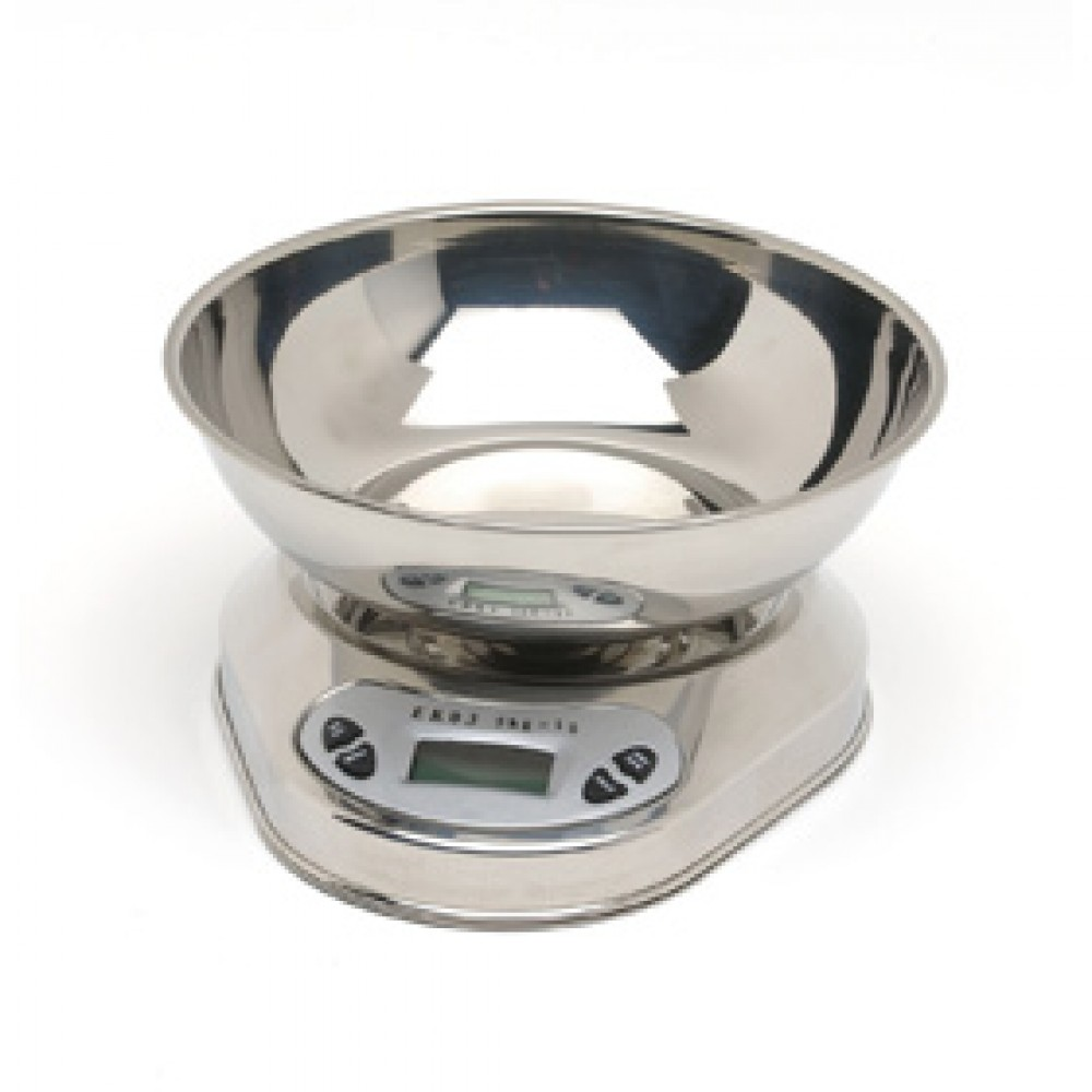 Genware Digital Scales & Bowl 5Kg