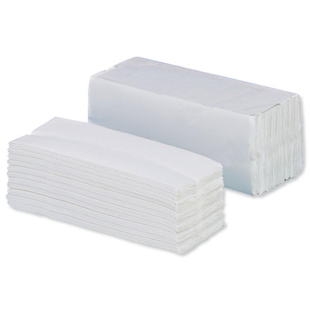 Berties Z-Fold Hand Towel 2 ply White