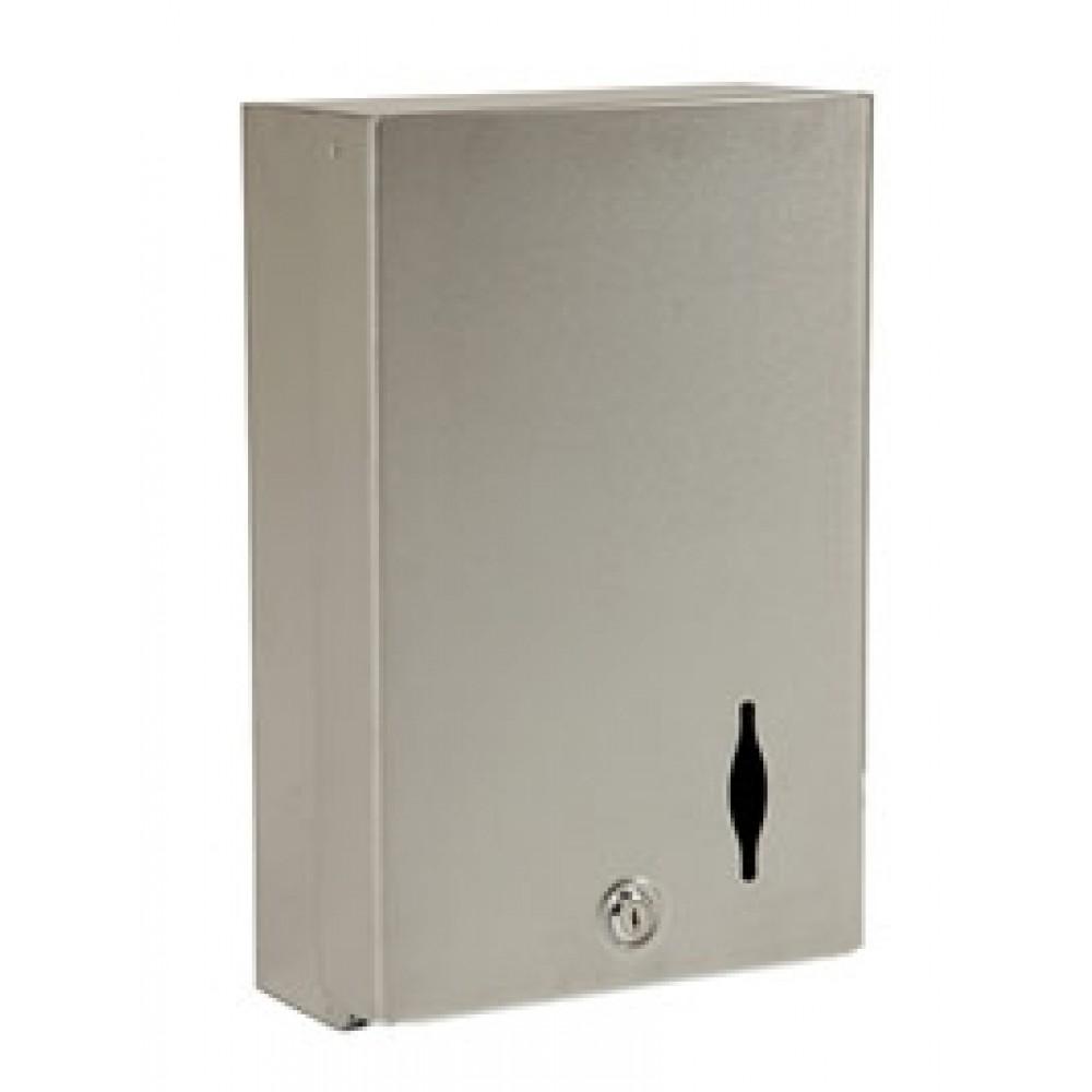 Berties Stainless Steel Hand Towel Dispenser
