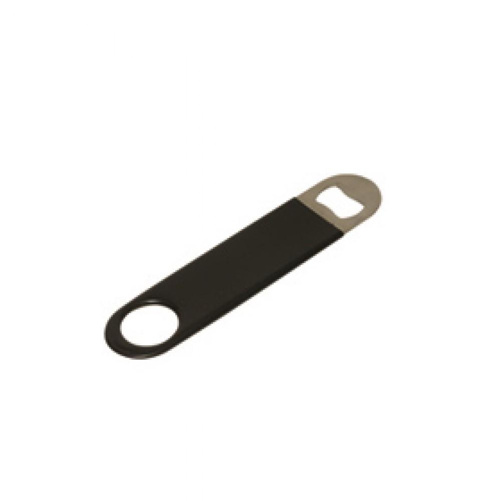 """Genware Bar Blade Flat Bottle Opener 7"""" (plastic handle)"""