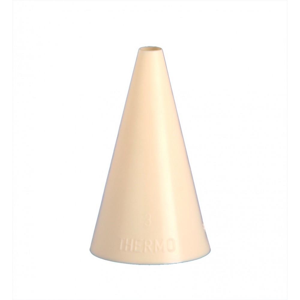 Berties Nylon Piping Tube Plain Tip 7mm