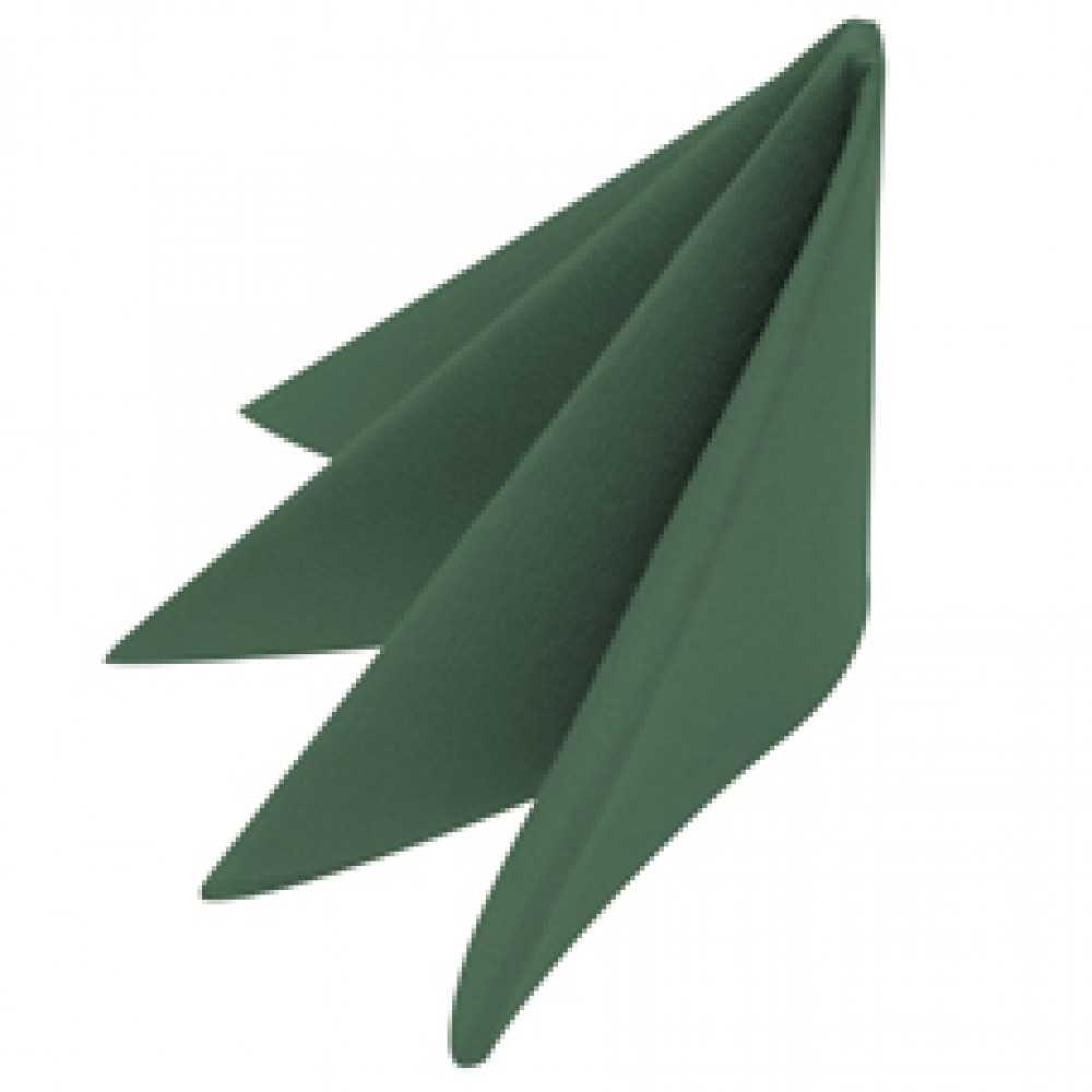 Swansoft Linen Style Green Dinner Napkin 40cm