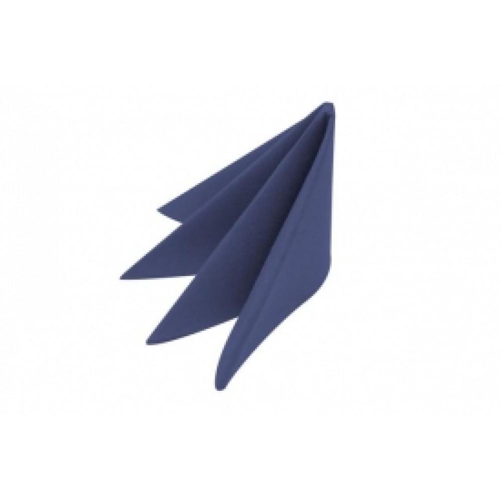 Swansoft Linen Style Blue Dinner Napkin 40cm