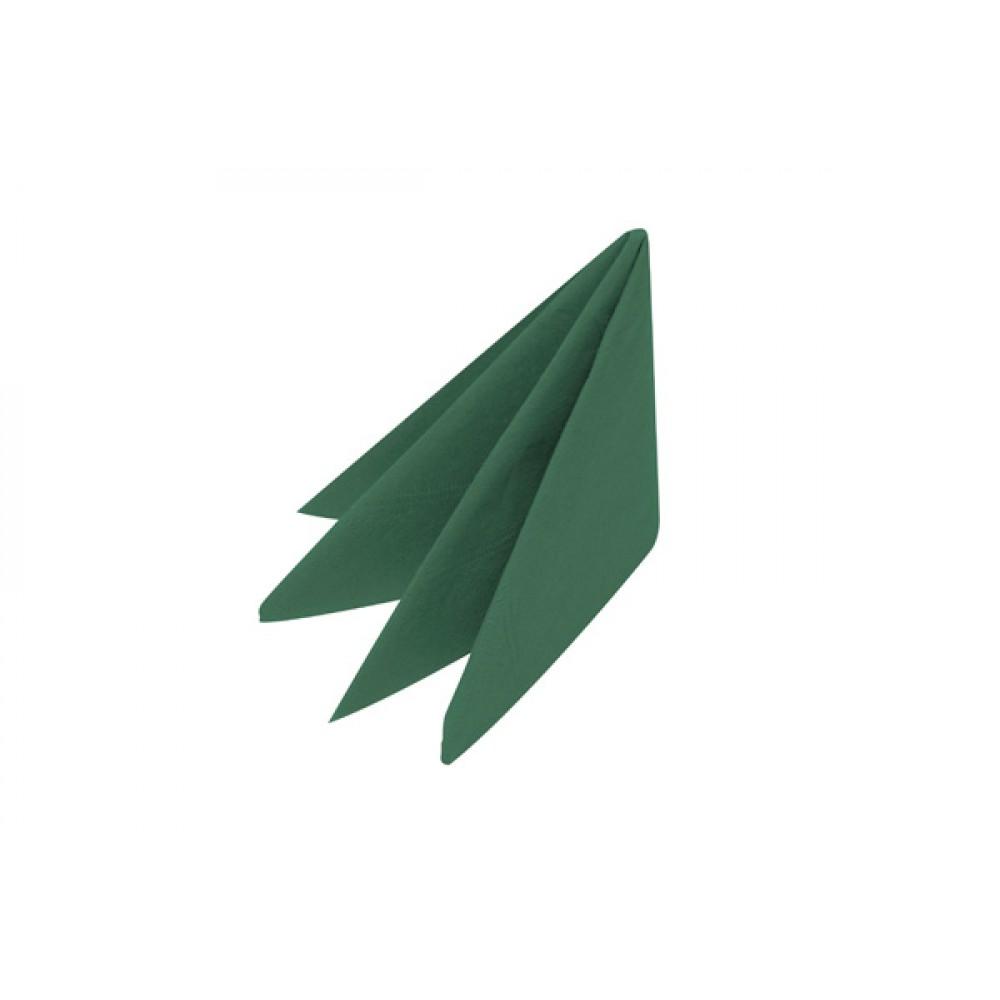 Swantex Green Dinner Napkin 3 ply 8 fold 40cm