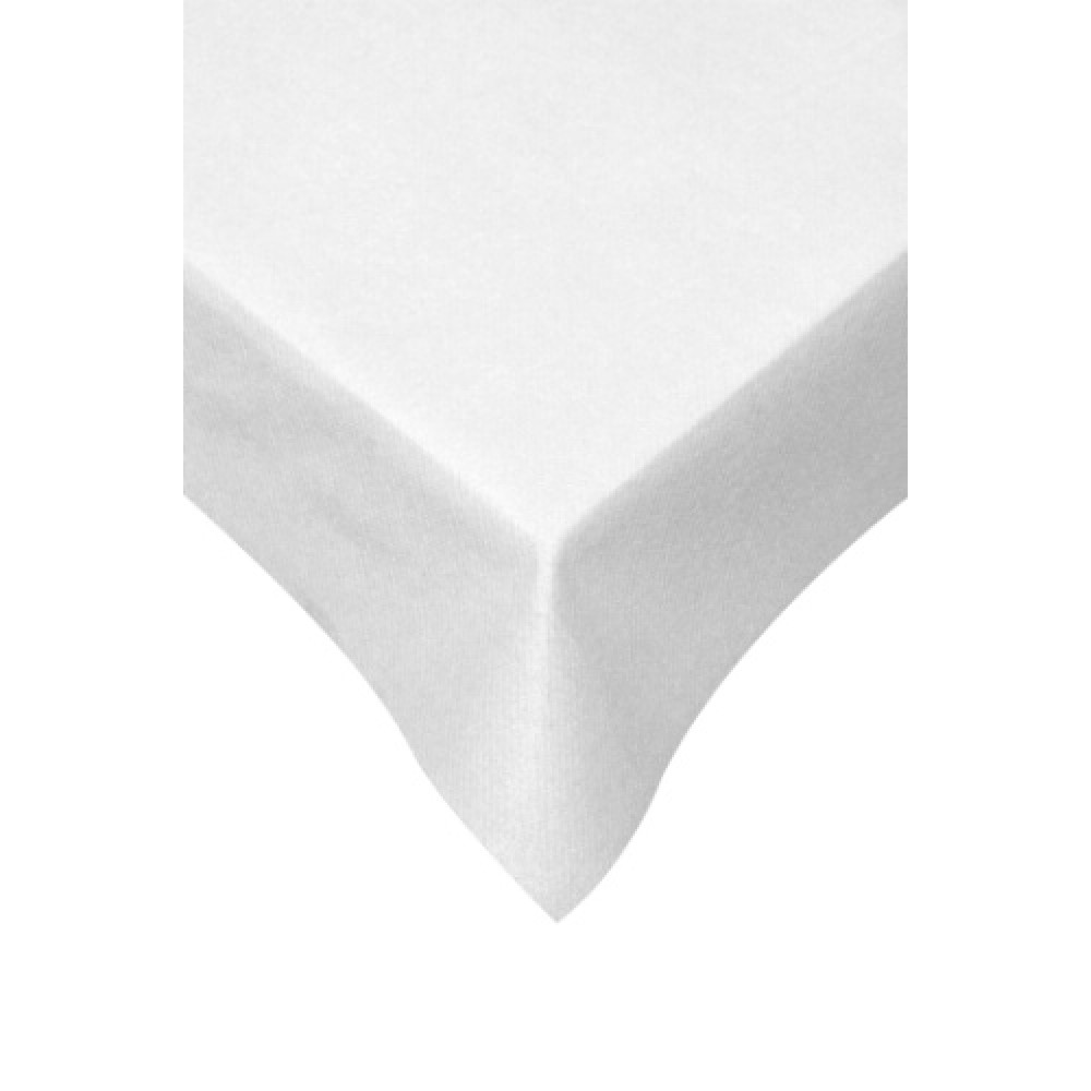 Swantex Swansoft White Table Cover 120cm