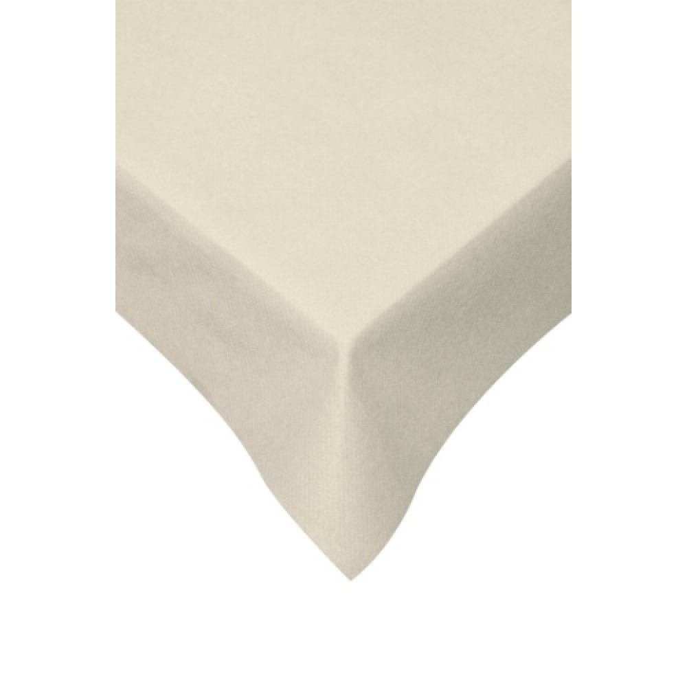 Swantex Swansoft Cream Table Cover 120cm