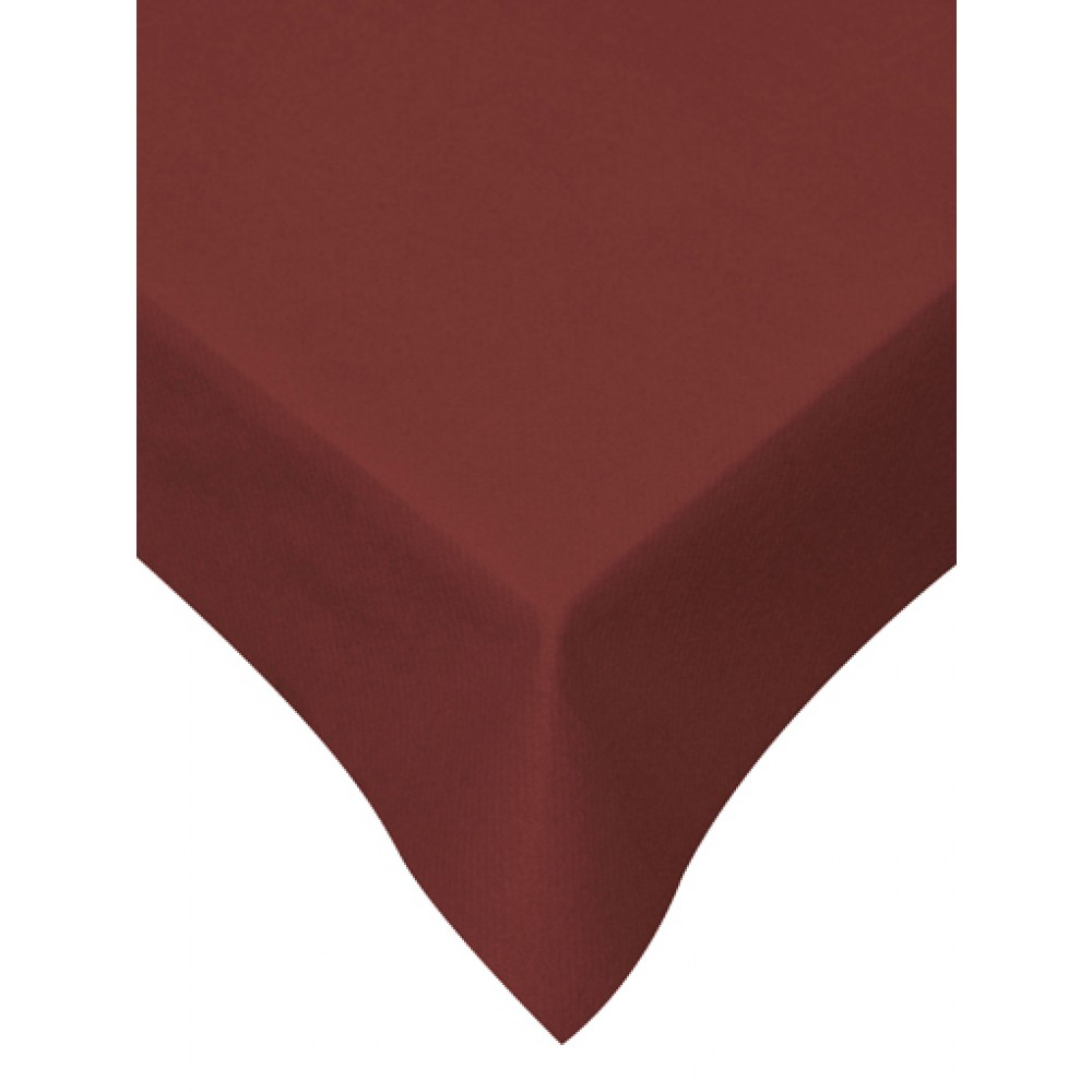 Swantex Swansoft Burgundy Table Cover 120cm