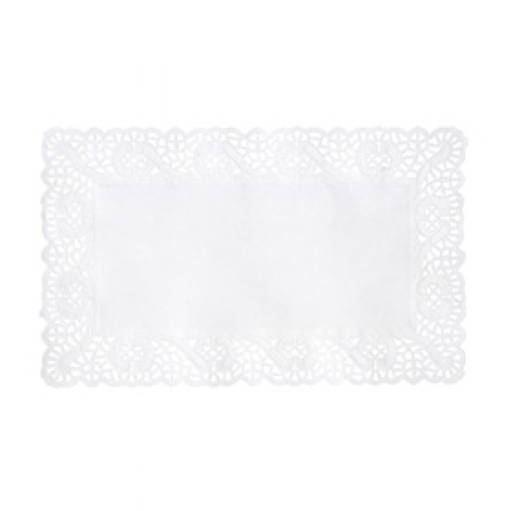 Berties White Tray Paper No2 Lace 35x25cm