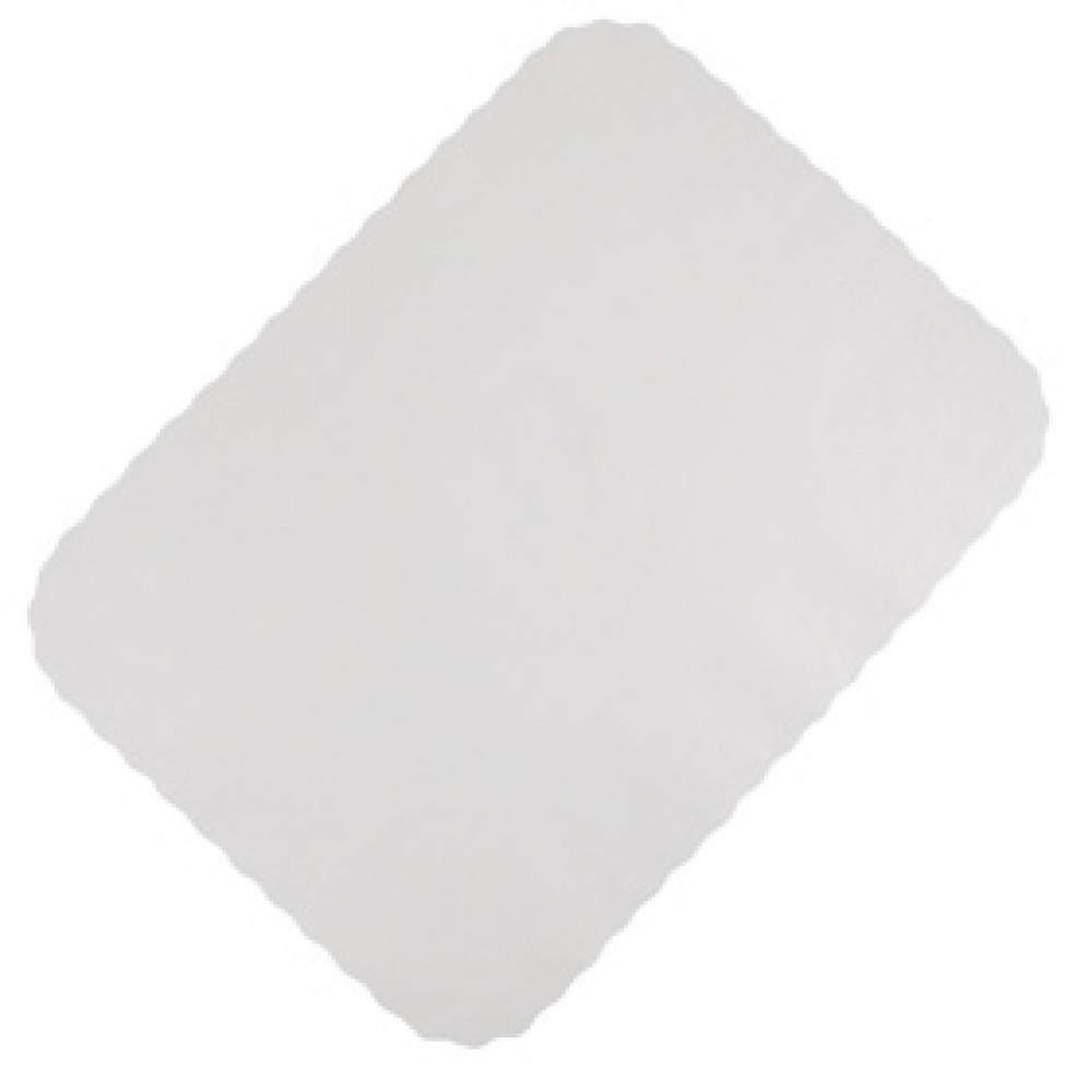 Berties White Tray Paper Embossed 38x55cm